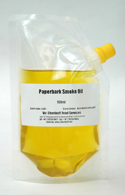 Paperbark Smoke Oil - the new truffle oil from Australia
